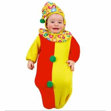 Baby clown trappelzak