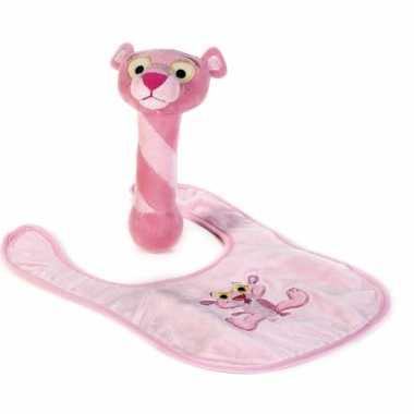 Baby geschenkset pink panter