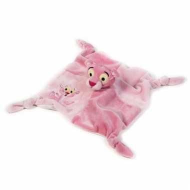 Baby tutteldoekje pink panter