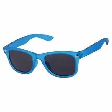 Blauwe baby peuter zonnebril model 4001