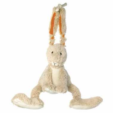 Happy horse pluche konijn muziekknuffel 26 cm