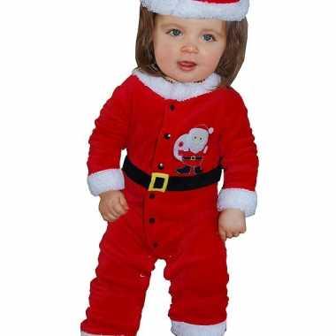 Kerstman baby pakje 3-12 maanden
