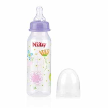 Lila nuby baby drinkfles 240 ml