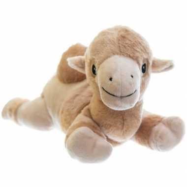 Magnetron warmte knuffel kameel 18 cm
