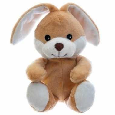 Magnetron warmte knuffel konijn/haas 23 cm