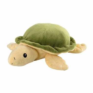 Magnetron warmte knuffel schildpad 23 cm
