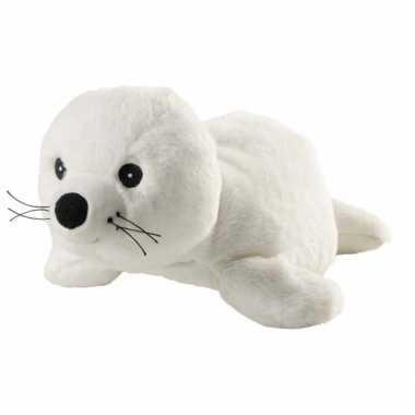 Magnetron warmte knuffel zeehond 31 cm