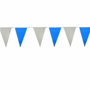 Oktoberfest - vlaggenlijnen lichtblauw en wit