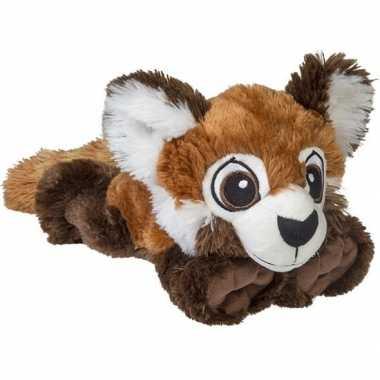 Pluche rode panda beer/beren knuffel 38 cm baby speelgoed