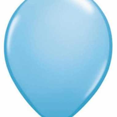 Qualatex ballonnen baby blauw