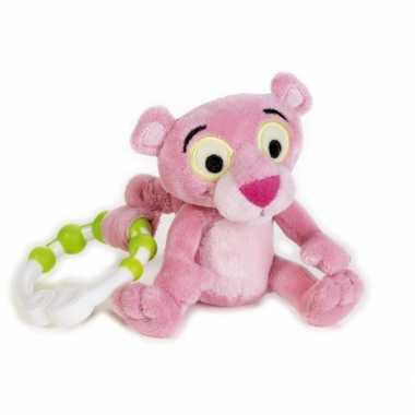 Rammelaar pink panter 17 cm