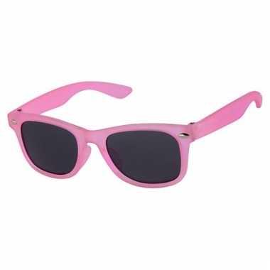 Roze baby/ peuter zonnebril