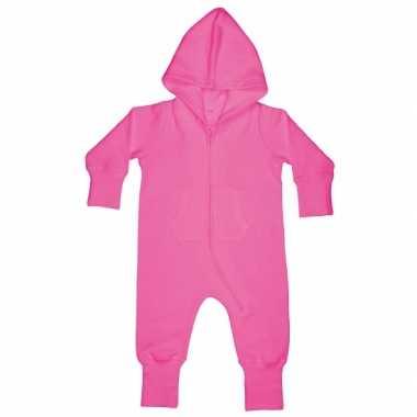 Roze onesie voor babies