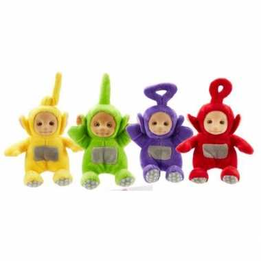 Teletubbies pluche dipsy knuffel 18 cm