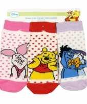 Baby sokken winnie de pooh 3 pak